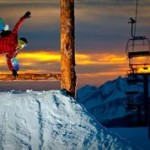 Snowboard park- Learn French and snowboard