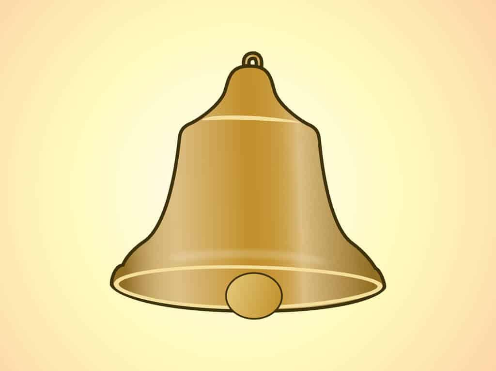 Golden-Bell-Vector