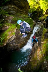 Learn French and Watersports - canyoning