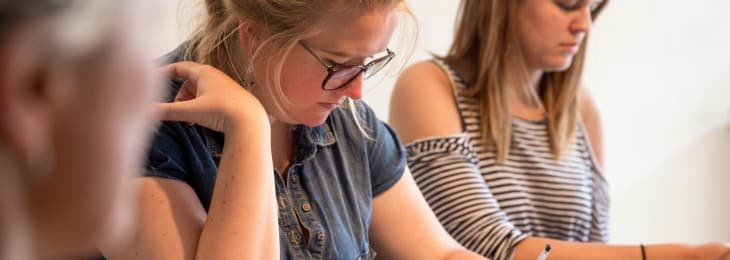 Students- Intensive French GCSE courses and A-level courses