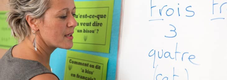 Christelle teaching- Intensive French GCSE courses and A-level courses