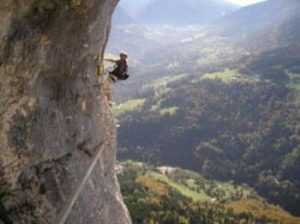 Learn French and Climbing in the French Alps
