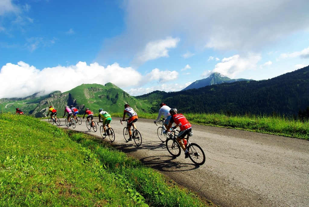 Learn French and Road Biking on the Col de la Joux Verte