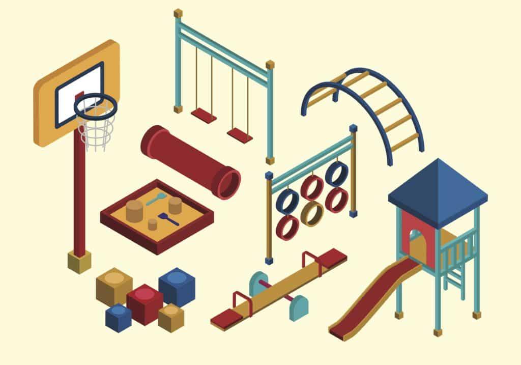 Free Isometric Kids Playground