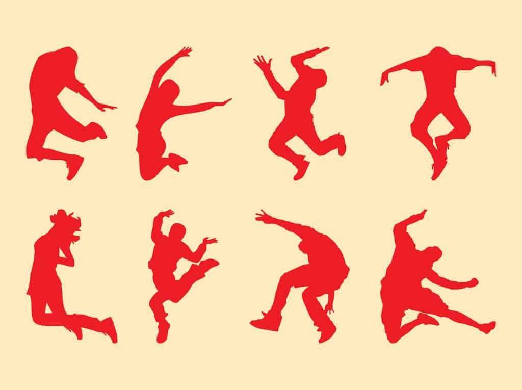 Jumping-People-Set
