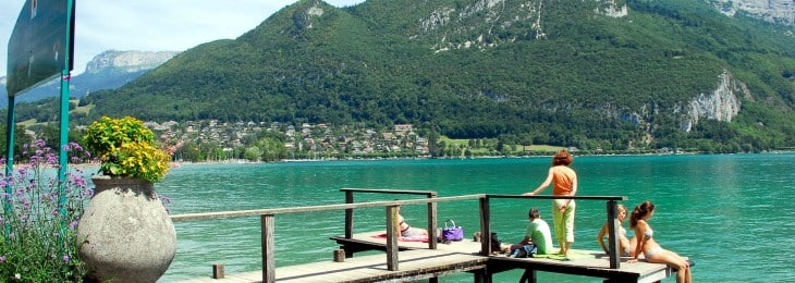 Learn French and Watersports - Lake Annecy