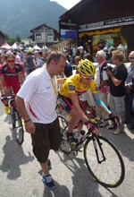 Tour de France in Morzine- Learn French and cycling