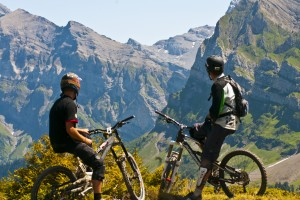 Learn French and Mountain Biking