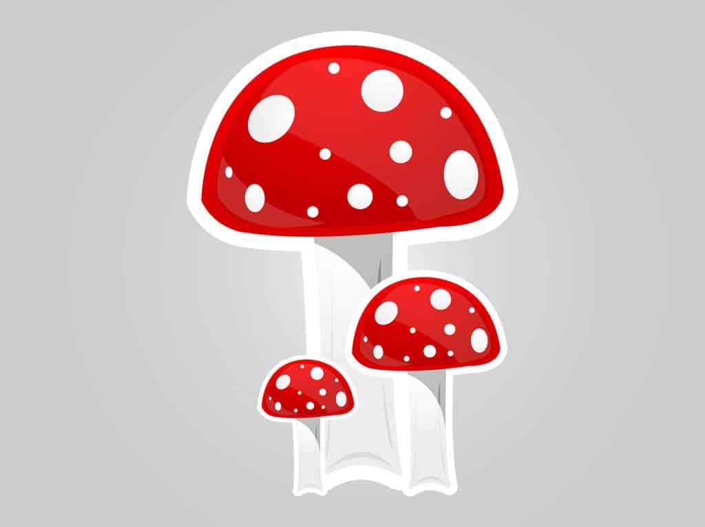 Cartoon-Mushrooms
