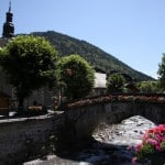 River in Morzine- Learn French France Immersion course