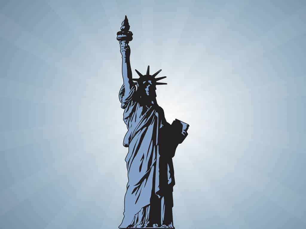Statue-Of-Liberty-Vector