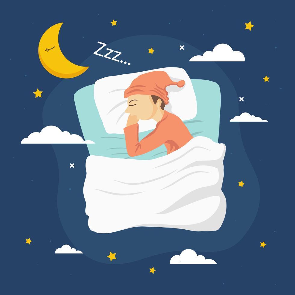 Bedtime Vector Illustration