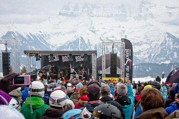 Learn French and skiing - Rock the Pistes festival