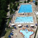 Morzine swimming pool- Learn French France Immersion course
