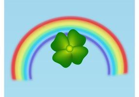 clover-and-rainbow-vector