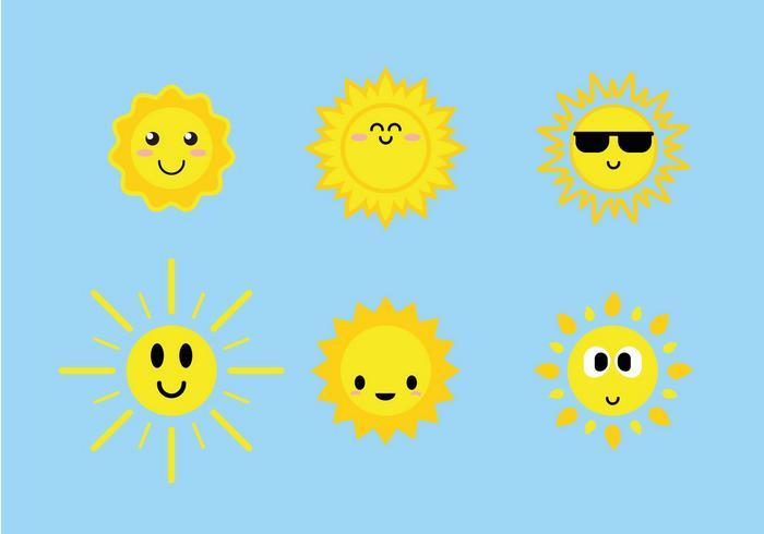 cute-sun-icons-vector