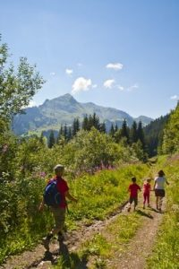 Mountain walks on our Learn French France Immersion course