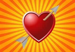 free-arrow-through-heart-vector