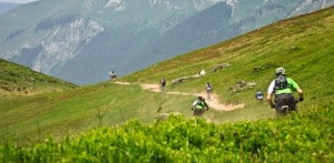 Mountain biking and French courses in Morzine