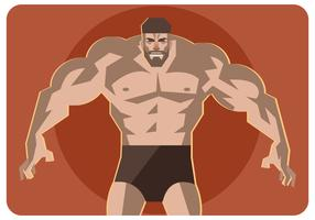 muscular-man-vector