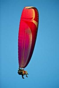 Learn French and paragliding