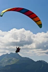 Roc d'Enfer- Learn french and paragliding