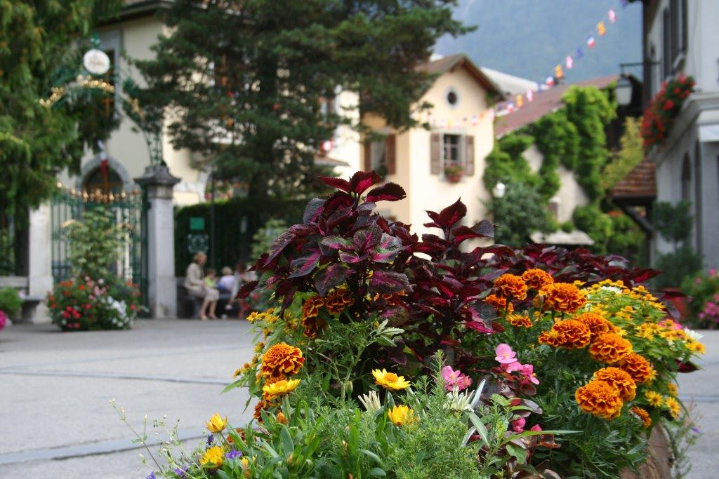 French immersion course in France- Samoens village centre