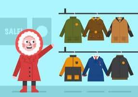 vector-winter-coat-for-girls